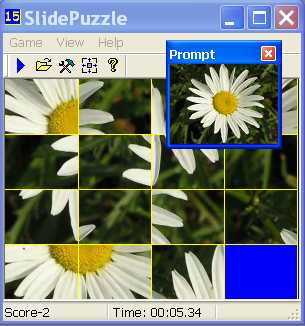 Click to view 15 Slide Puzzle 1.5 screenshot